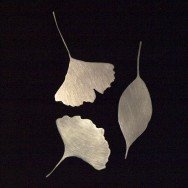 Japan leaves brooches